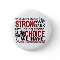 Head and Neck Cancer How Strong We Are Button