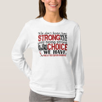 Head and Neck Cancer How Strong We Are T-Shirt
