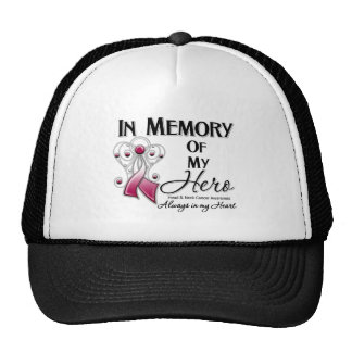 Head and Neck Cancer In Memory of My Hero Trucker Hat
