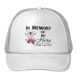 Head and Neck Cancer In Memory of My Hero Mesh Hat