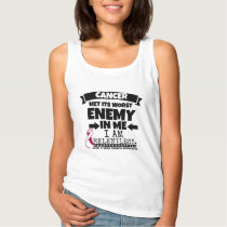 Head and Neck Cancer Met Its Worst Enemy in Me Tank Top