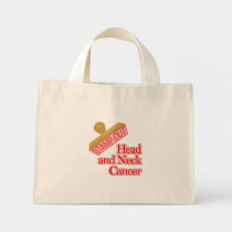 Head and Neck Cancer Mini Tote Bag