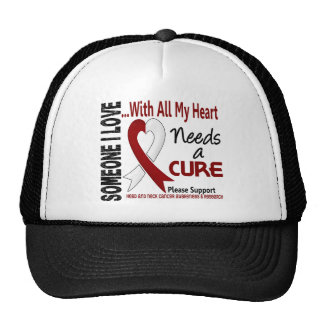 Head and Neck Cancer Needs A Cure 3 Mesh Hat