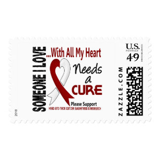 Head and Neck Cancer Needs A Cure 3 Postage Stamp