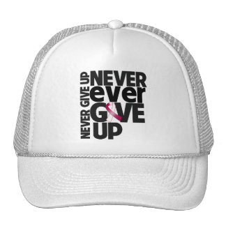 Head and Neck Cancer Never Ever Give Up Trucker Hat