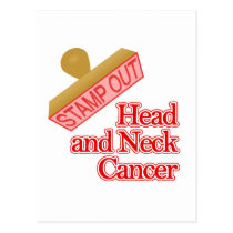 Head and Neck Cancer Postcard