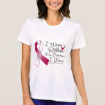 Head and Neck Cancer Ribbon Someone I Love T-shirt