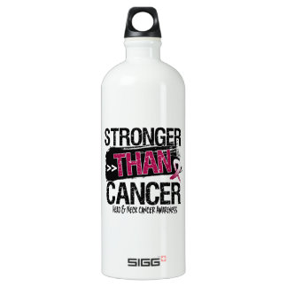 Head and Neck Cancer - Stronger Than Cancer SIGG Traveler 1.0L Water Bottle