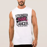 Head and Neck Cancer - Stronger Than Cancer Sleeveless Tee