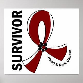 Head and Neck Cancer Survivor 12 Print