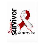 Head and Neck Cancer Survivor 19 Postcard