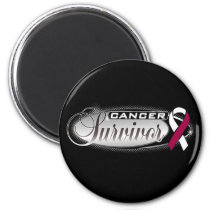 Head and Neck Cancer Survivor Magnet