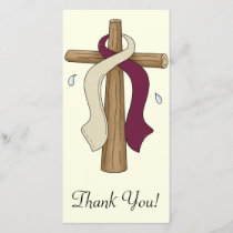 Head and Neck Cancer Thank You Card