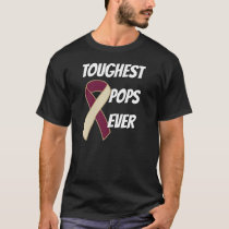 Head And Neck Cancer - Toughest Pops Ever T-Shirt