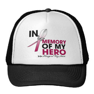 Head and Neck Cancer Tribute In Memory of My Hero Mesh Hats