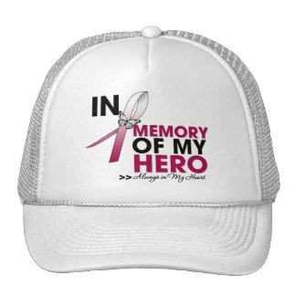 Head and Neck Cancer Tribute In Memory of My Hero Trucker Hat