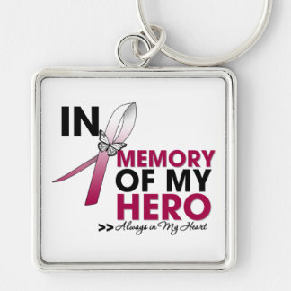 Head and Neck Cancer Tribute In Memory of My Hero Key Chains