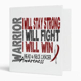 Head And Neck Cancer Warrior Binders