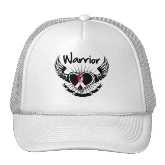 Head and Neck Cancer Warrior Fighter Wings Mesh Hat