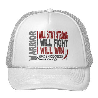 Head And Neck Cancer Warrior Hat
