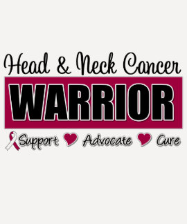 Head and Neck Cancer Warrior T-shirt