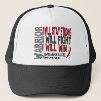 Head And Neck Cancer Warrior Trucker Hat