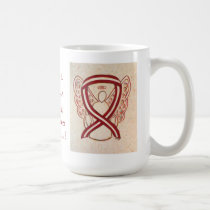 Head and Neck Cancers Awareness Ribbon Coffee Mug