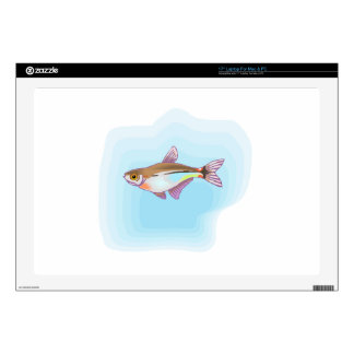 "Head And Taillight Tetra Fish 17"" Laptop Skins"