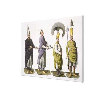 Head Baker, Head Cook and other examples of Ottoma Canvas Print