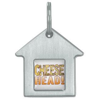 Head Blue Cheese Pet ID Tag
