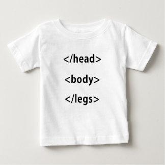 Head Body Legs Computer Humor Baby T-Shirt
