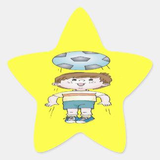 Head Bounce Star Sticker