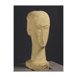 Head, c.1911-12 canvas print