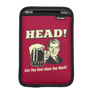 Head: Can You Ever Have Too Much iPad Mini Sleeve
