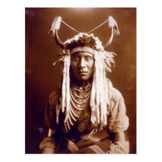 Head Carry (Native American) Postcard