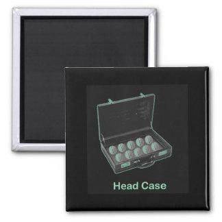 Head Case Magnet