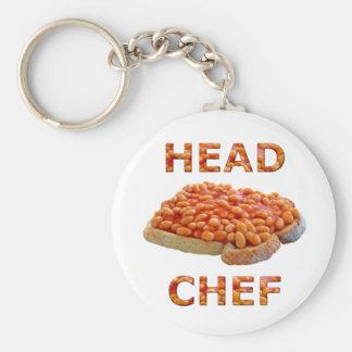 Head Chef Beans on Toast Keychain