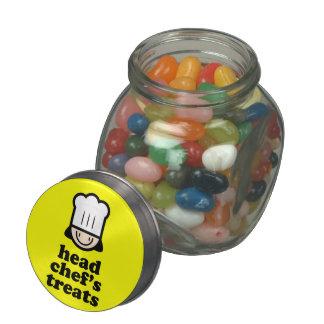 Head Chef Glass Jars
