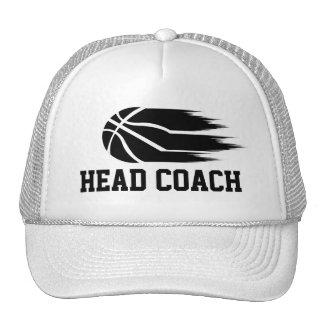 Head Coach Cap Trucker Hat