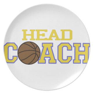 Head Coach Dinner Plate