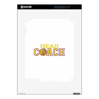 Head Coach iPad 2 Decals