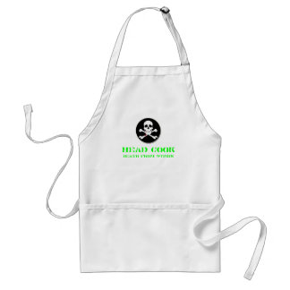 Head Cook Death from Within #2 Adult Apron