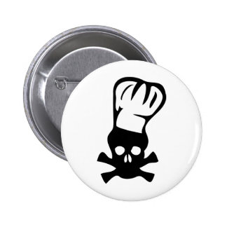 head cook icon 2 inch round button