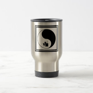 Head Desk Icon 15 Oz Stainless Steel Travel Mug
