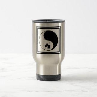 Head Desk Icon Travel Mug