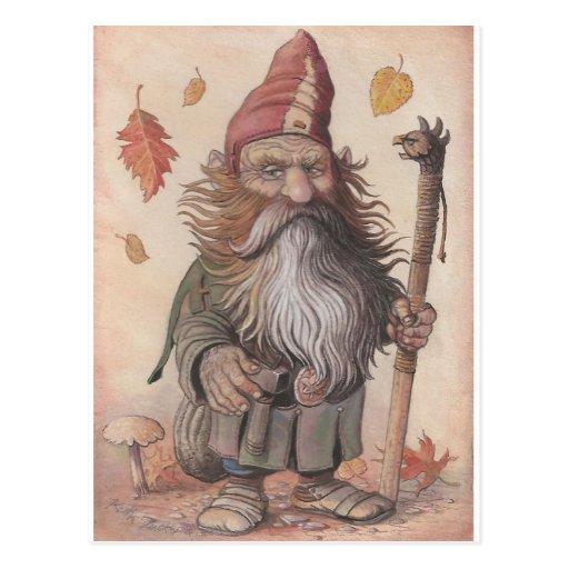 Head Dwarf Postcard