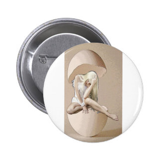 HEAD-EGGS ARE FOR THE BIRDS PINBACK BUTTON