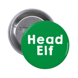 Head Elf Button