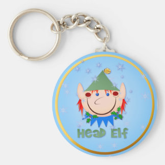 Head Elf Keychains