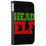 HEAD ELF KINDLE FOLIO CASE
